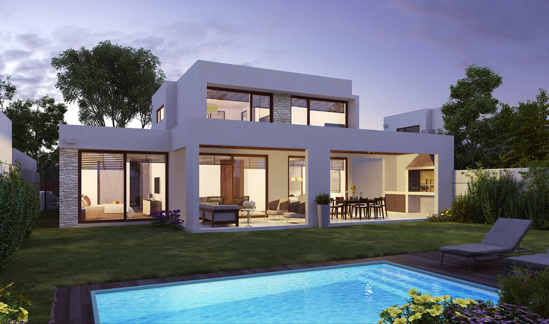 Spr ext casa 139 for Casas prefabricadas mediterraneas